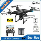 Easy to Fly HS120D FPV Drone with 2K HD Camera Selfie GPS Quadcopter Follow Me