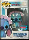 Funko Pop Lilo and Stitch 1124 FALL CONVENTION EXCLUSIVE IN ROLLERS IN HAND!