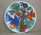 VILLEROY  BOCH Bird ACAPULCO SALAD PLATE Blue Stamp Luxembourg