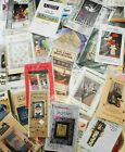 Lot 89 Assorted CRAFT Sewing Patterns Quilts DOLLS Wall Hangings Xmas UNCUT