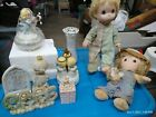 precious moments lot of figurines