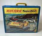 Matchbox Superfast Deluxe Collectors Case Holds 72 Cars Vintage Models