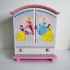 Disney Princess Painted Wooden Jewelry Box Chest Belle Snow White Cinderella