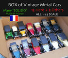 Lot of 18 O Scale 143 Die Cast vintage cars Great condition Ships Free USA