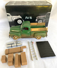 Unique Replicas 1952 Ford Pick Up Green w Mud Die Cast 1 24 Truck