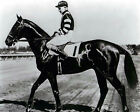 War Admiral Kurtsinger up 8x10 BW Photo