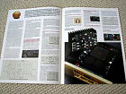 Accuphase A-20 power amplifier brochure catalogue