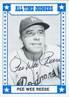 Pee Wee Reese Cards, Rookie Card and Autographed Memorabilia Guide 3