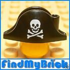 G061A Lego Pirate Bicorne Skull Crossbones Pattern -NEW