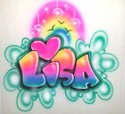 Custom Airbrushed shirt Personalized w YOUR Name