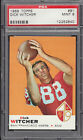 1969 Topps FB #91 DICK WITCHER SF 49ers Mint PSA 9 h8978