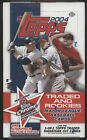 2004 Topps TRADED & ROOKIES BB - Fact Sealed Hobby Box