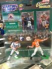 Rare Peyton Manning Starting LineUp Doubles Colts Vols