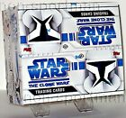 STAR WARS CLONE WARS ANIMATED FACTORY SEALED HOBBY BOX