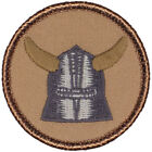 Cool Boy Scout Patches- Knight Helmet Patrol! (#195)