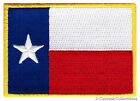 TEXAS STATE FLAG PATCH EMBROIDERED IRON ON LONE STAR TX REPUBLIC applique BEST