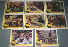 MODERN TIMES original 1959 lobby card set CHARLIE CHAPLIN 11x14 movie posters
