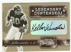 2001 CONTENDERS KELLEN WINSLOW AUTO. SAN DIEGO CHARGERS