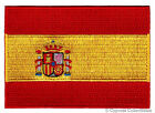 SPAIN FLAG embroidered iron on PATCH SPANISH EMBLEM new applique ESPAA