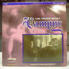 Laserdisc Carl Theodor Dreyers Vampyr Restored NM