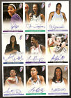 crystal langhorne rookie wnba autograph,maryland,