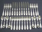 32 PC TOWLE GRAND DUCHESS STERLING 8 PLACE FLATWARE