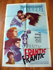 FRANTIC Elevator to the Gallows Louis Malle Film noir original movie poster