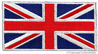 BRITISH FLAG EMBROIDERED PATCH UNION JACK ENGLAND UK GREAT BRITAIN IRON ON blue