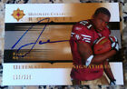 FRANK GORE 2005 Upper Deck Ultimate AUTO Rookie RC 123 225 San Francisco 49ers