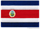 COSTA RICA FLAG embroidered iron on PATCH CENTRAL AMERICAN EMBLEM SOUVENIR