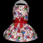 DOG CLOTHES CHRISTMAS HOLIDAY DRESS ORNAMENTS CHIHUAHUA YORKIE XS SM OR MED