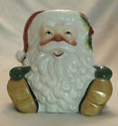 FITZ & FLOYD CANDY LANE SANTA CANDLECUP - CANDLE