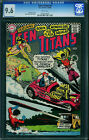 Teen Titans #3 CGC 9.6 DC 1966 WHITE! Batman Flash Rare! 105 cm