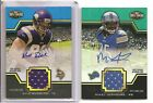 TRIPLE THREADS MIKEL LESHOURE DUAL ROOKIE JERSEY RELIC & AUTO #01 50 LIONS RC #1