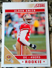 ALDON SMITH 2011 SCORE Panini VERY RARE Rookie RC SP HOT San Francisco 49ers