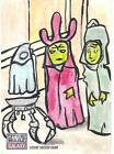 Top 10 2012 Topps Star Wars Galaxy 7 Sketch Card Sales 23