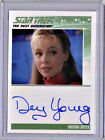 COMPLETE STAR TREK TNG SERIES 2 DEY YOUNG AUTOGRAPH