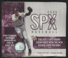 2006 Upper Deck SPX MLB Baseball Cards - Factory Sealed Hobby Box