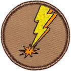 Cool Boy Scout Patches Lightning Bolt Patrol 386