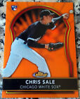 CHRIS SALE 2011 Topps Finest ORANGE Refractor SP 64 99 Rookie RC White Sox 10-1