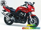 YAMAHA 3 STAGE TOUCH UP PAINT KIT VIVID RED COCKTAIL 7 TDM850 FZS600 VXS650 ETC