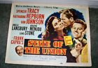 STATE OF THE UNION original poster KATHARINE HEPBURN SPENCER TRACY FRANK CAPRA