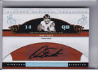 2007 NATIONAL TREASURES #AD-DF DAN FOUTS AUTO. SAN DIEGO CHARGERS HOF 35 50