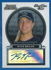 2005 05 Bowman Sterling Ryan Braun BS-RB RC Auto Autograph Milwaukee Brewers