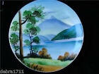 Signed P.Hichuta Mountain Handpainted Plate Gorgeous