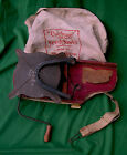 Pat. 1925 Farm Advertising Cyclone Seed Thrower in Iron, Red Wood, and Cloth