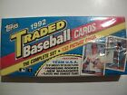 1992 BASEBALL TOPPS TRADED SET !!