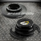 NRG STEERING WHEEL SHORT HUB+GEN 30 BLACK QUICK RELEASE 91 98 BMW E36 3 SERIES