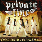 Private Line - Evel Knievel Factor RARE Glam Braz. Version