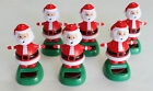 Lot of 6 Solar Power Motion Toys - Dancing Santa Christmas Gift Decoration